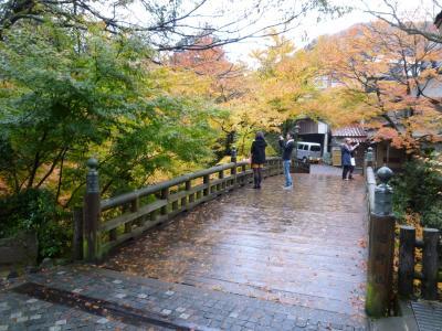 秋の山中温泉をちょこっと歩き