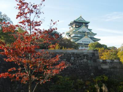 台湾の好朋友+1と行く大阪城そして中華街へ