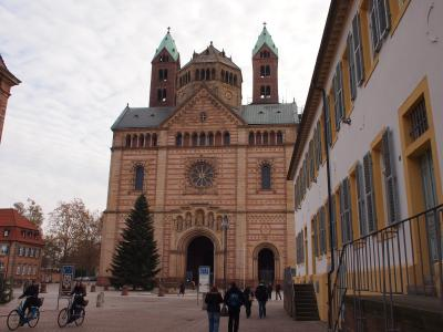 2012冬 ドイツの旅・その4 〜シュパイヤーの大聖堂を見る〜