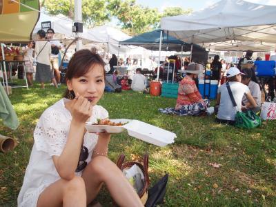 ハネムーン♥ハワイ6日目~マーケットで食べ歩き♪