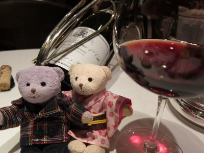 くまくまのおでかけ日記 ~2012 結婚記念日ディナーは 川崎シェフの鴨を食す!~の巻