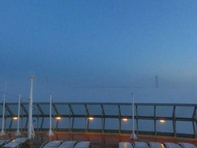 セレブリティ・サミットで行くカナダ・米国東海岸クルーズ(16日目:ニューヨーク(ケープリバティ港)入港・ベラザノナロウズ橋)