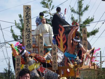 秋田市土崎港曳山祭り
