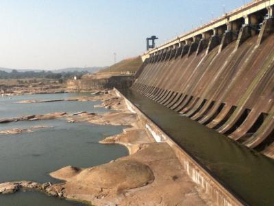 世界一もっとも長いダム『Hirakud Dam』 India  Orissa
