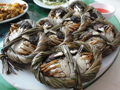 マカオで上海蟹今年二回目(珠海も)