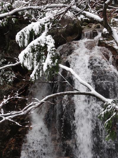 これからはバル巡りより滝巡り?目指せラテン系滝メグラー!デビューは雪の滋賀県高島 八ツ淵の滝