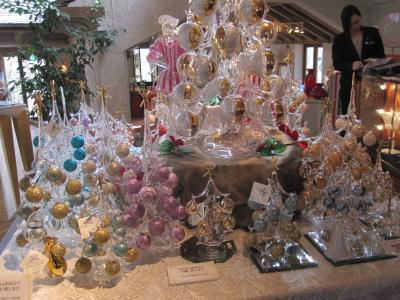 箱根ガラスの森美術館…クリスマス…キラキラでした。