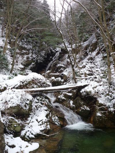 滝メグラーが行く151 雪化粧した日本の滝百選『八ツ淵の滝』