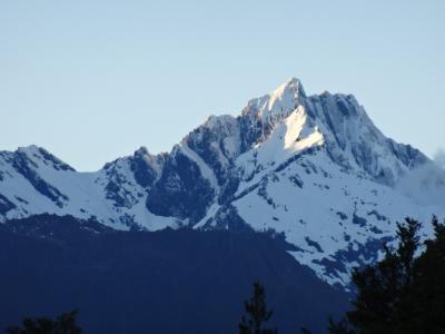 ニュージーランド南島ドライブ(2)~ワナカとFOX氷河とウエストポート 2012年11月
