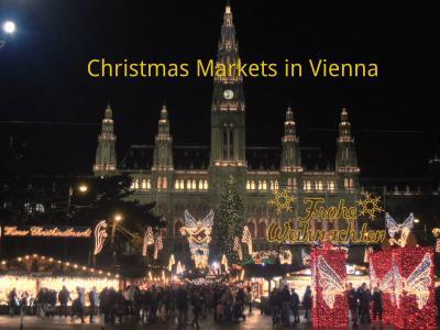 ウィーンのクリスマスマーケット 2012(ウィーン市庁舎前広場)
