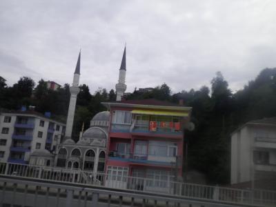 ユーラシア  西へ79: グルジア・「バツーミ」⇒トルコ・「トラブゾン」