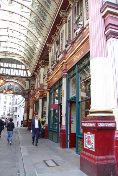 子連れ旅行 ベルギー・イギリス ロンドン市内観光(その4) ハリーポッターの撮影地を見に行くのだ