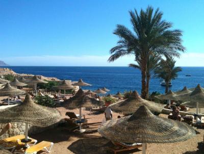 エジプトの紅海リゾート、シャルム・エル・シェイクでなぁーんにもしない極楽ホリデイ ◆エジプト◆