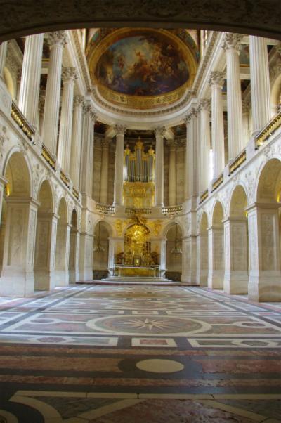 フランス旅行09・ベルサイユ宮殿