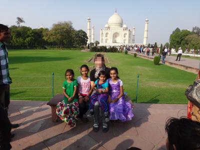 母娘のインド周遊2012秋2