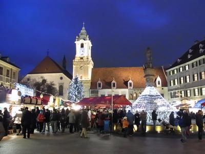 【2012年12月】9日間中欧6カ国のクリスマスマーケットを巡る旅(その⑥:ブラチスラヴァ)
