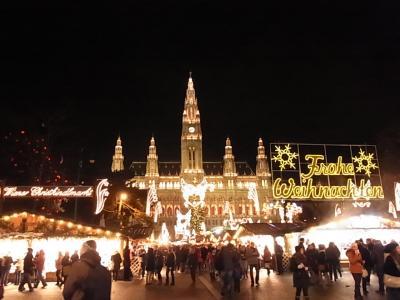 【2012年12月】9日間中欧6カ国のクリスマスマーケットを巡る旅(その⑦:ウィーン)
