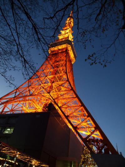 2012 今年もクリスマスイヴは東京タワー ライトアップ