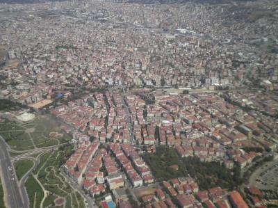 ユーラシア 西へ86:  飛んで 「イスタンブール」