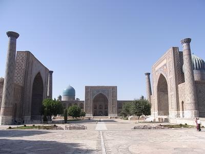 【2012年8月】7日間ウズベキスタン・カザフスタン旅行(その②:サマルカンド編)