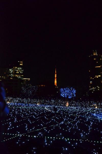 東京ブラリ旅2012.12.25-26 ~③東京ミッドタウンのイルミ~