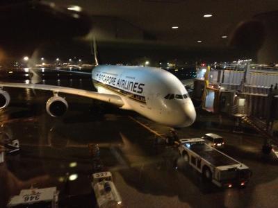シンガポール航空(SQ) ビジネスクラス A380-800 ロサンゼルスー成田(LAX-NRT) 搭乗記 (2012年9月)