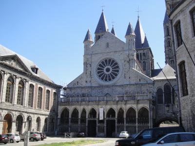 行きあたりばったり、ヨーロッパ周遊一人旅2012 Vol.12 改修中のトゥルネー・ノートルダム寺院とブリュッセル