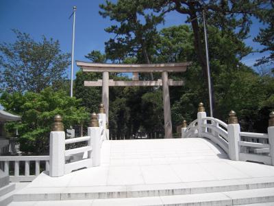相模一之宮寒川神社訪問