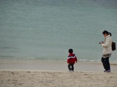 年末に家族で沖縄へ行ってみたものの・・。