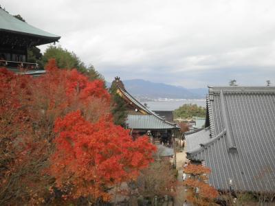 秋に安芸の宮島に行ってきました。