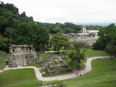 2012年マヤ文明への旅 その5 パレンケ遺跡