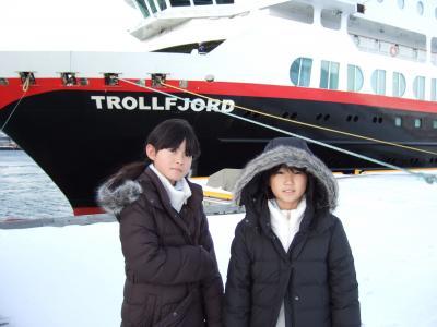 2007年ノルウェー家族旅行