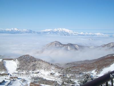 家族恒例の志賀高原スキー