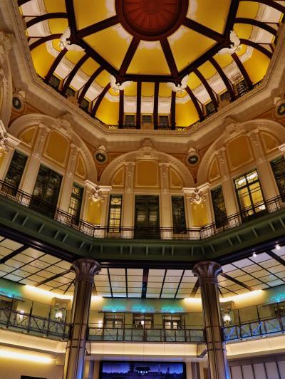 東京駅丸の内駅舎-2 保存復元なった内観 ☆ドーム内装飾も蘇り