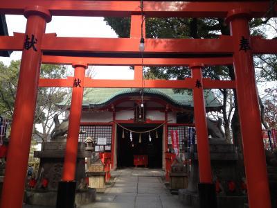 初詣も兼ねて大阪上町台地の歴史散策
