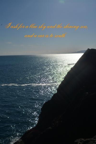 青い空、光る海を求めて・・・車は南へ その1
