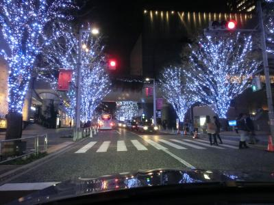 ちょっと寄り道・六本木けやき坂イルミネーション(2012年11月)