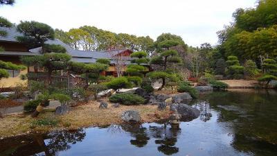 航空記念公園の日本庭園