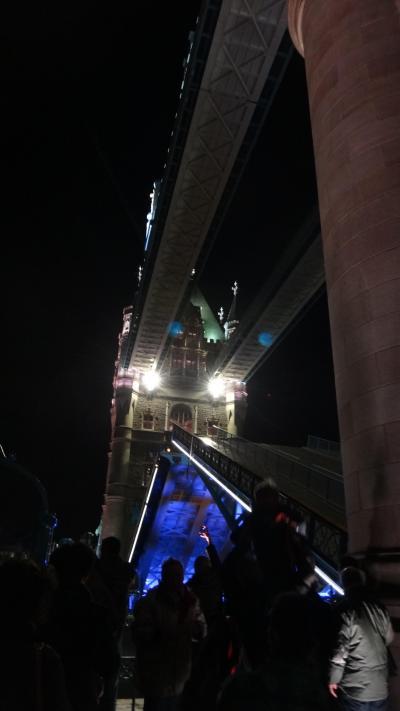 年末ロンドン1泊2日 1日目 到着~夜のテムズ河