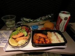 旅行の間の食事を振り返ってみよう