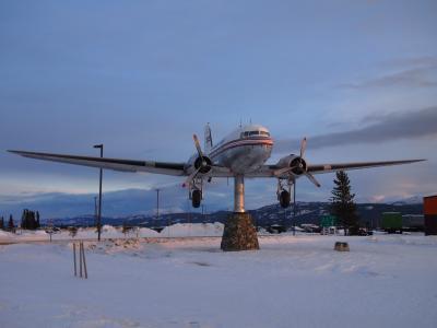 5度目はまた冬、そして極寒のカナダへ~③ホワイトホースで友達と再会♪