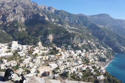『1』海外44回目はツアーで行く南イタリア(出発→ナポリ泊→アマルフィ編)