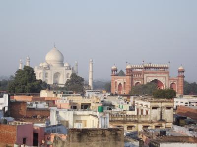 冬のインドの旅3  to agra