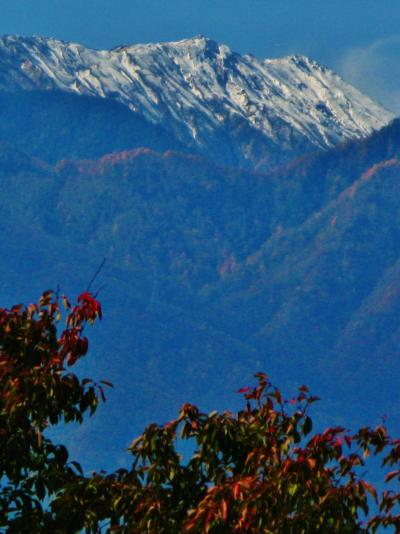 安曇野-1 首都高・中央道・長野道を通り安曇野へ ☆八ヶ岳・連峰を眺めて