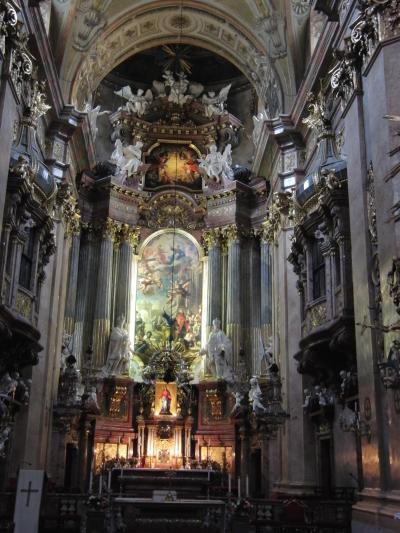 聖堂巡礼 オーストリア:ウィーン 1 ペーター聖堂(教会)