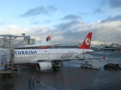 2012年12月 トルコ航空で飛ぶオランダ・ベルギー・トルコ(2 TK1951便でアムステルダムへ)
