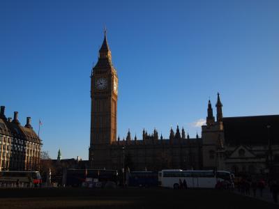 2012-2013年末年始家族旅行 ロンドン・パリ8日間の旅(ロンドン編)出発・1日目