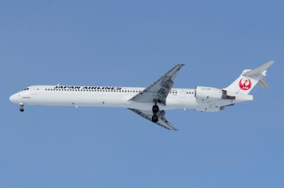 JAL MD-90 Last Ride