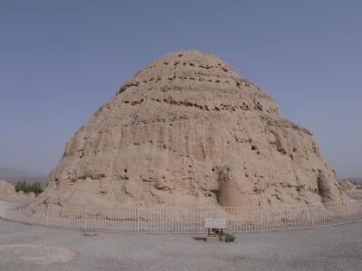 西夏王陵と砂漠を尋ねて 銀川旅行