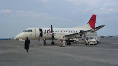 乗り継ぎ便!宮崎→福岡 JAC3632便《SABB340B》搭乗(2013年1月)